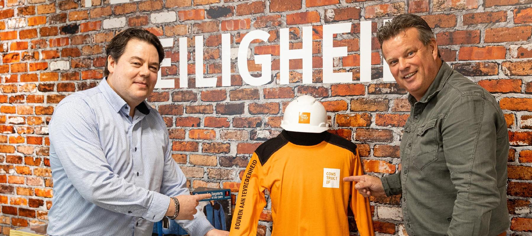 Bedrijfskleding Constructif: Mastermate ontzorgt bouwbedrijf van logo tot webshop