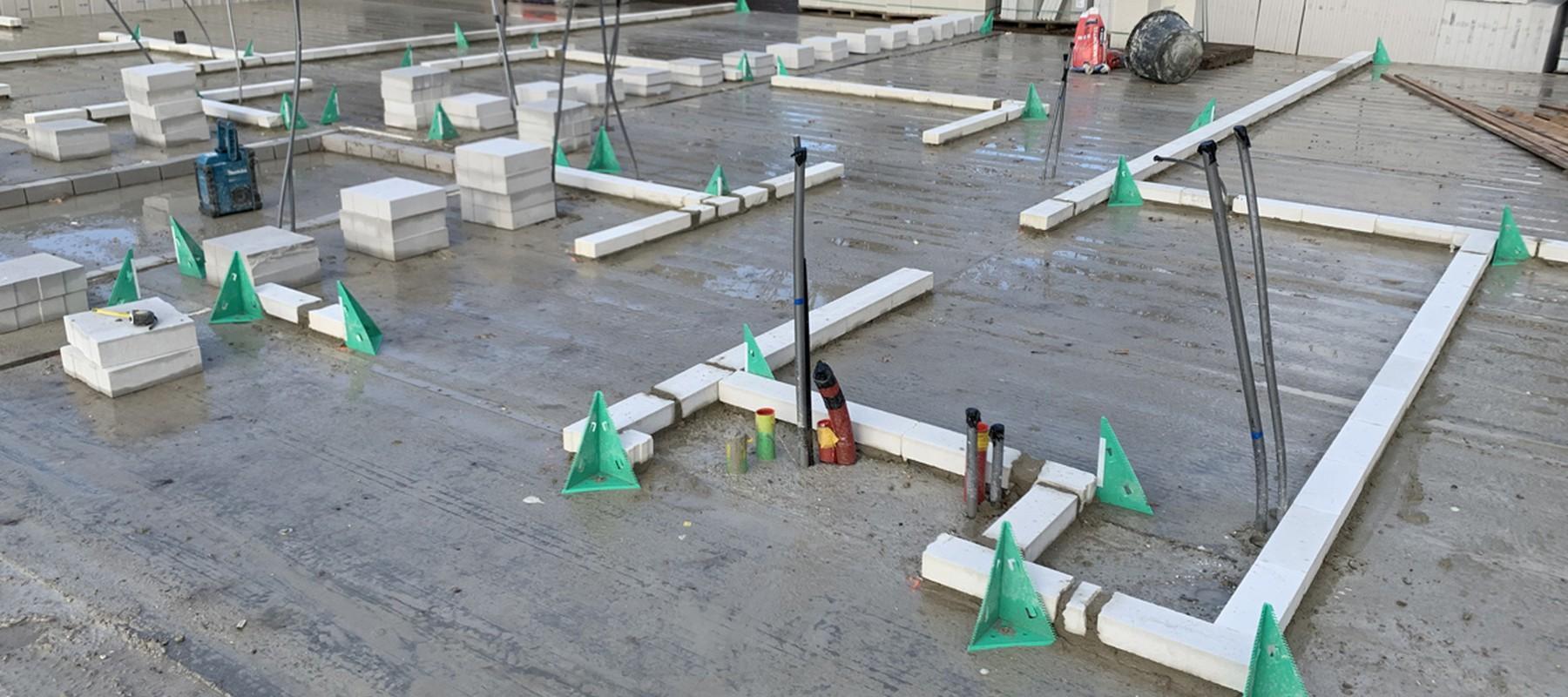Kalkzandsteen kimmen: met de juiste hulpmiddelen nauwkeurig én snel werken