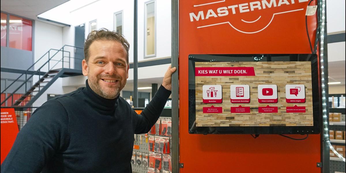 Michiel Vos manager ecommerce mastermate kunstmatige intelligentie