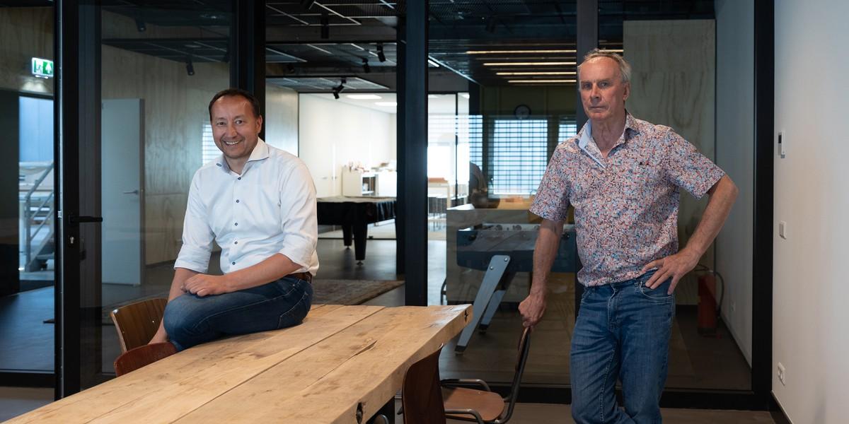 Jan Bevaart en Mark van Gurp