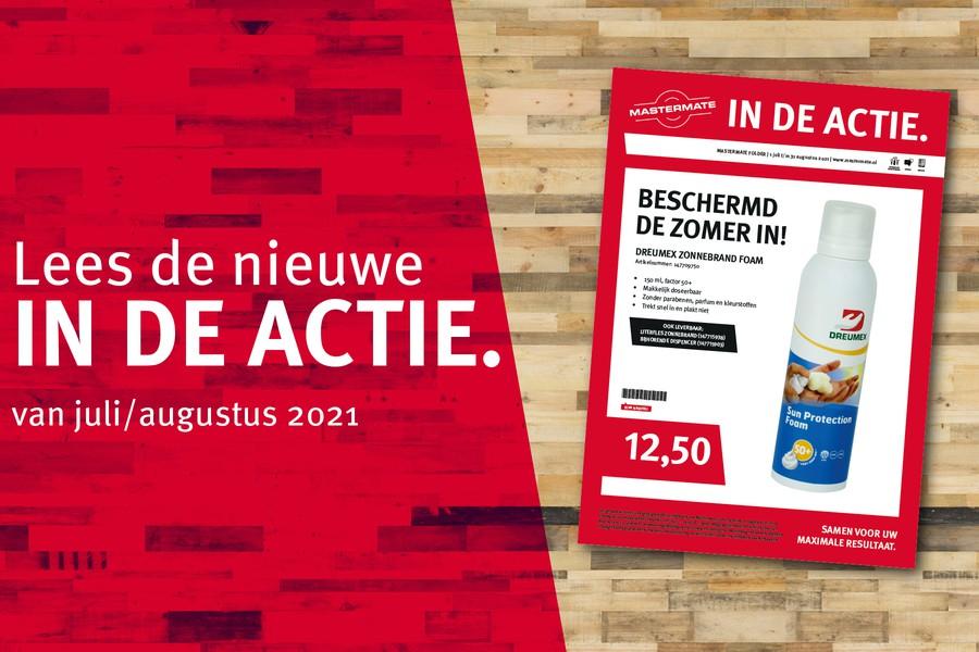 IN DE ACTIE: bekijk hier de acties van juli-augustus 2021