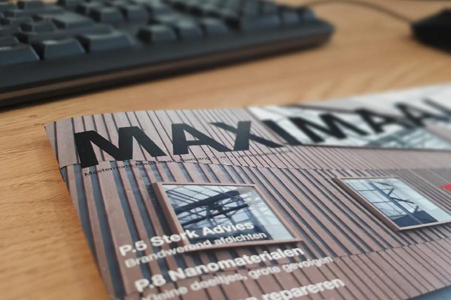 Nieuw: Maximaal. Mastermate magazine.
