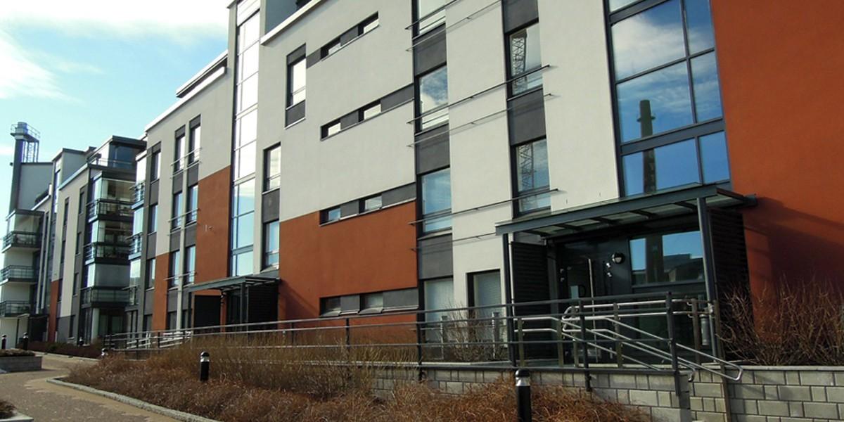 Toegangssysteem voor appartementencomplexen