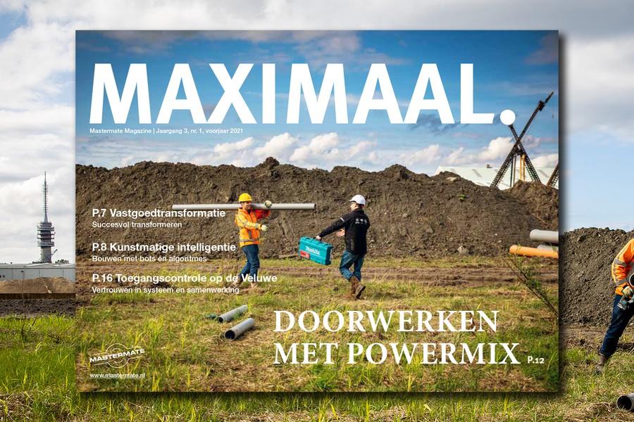 Maximaal: toegangsbeheer, elektrisch gereedschap en kunstmatige intelligentie