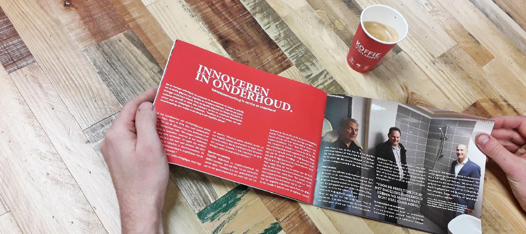 Nieuwe Maximaal over innoveren in onderhoud