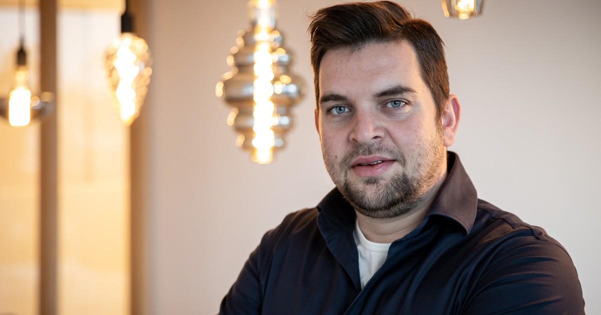 Adriaan Bossenbroek, directeur Krijgsman Bouw uit Dordrecht