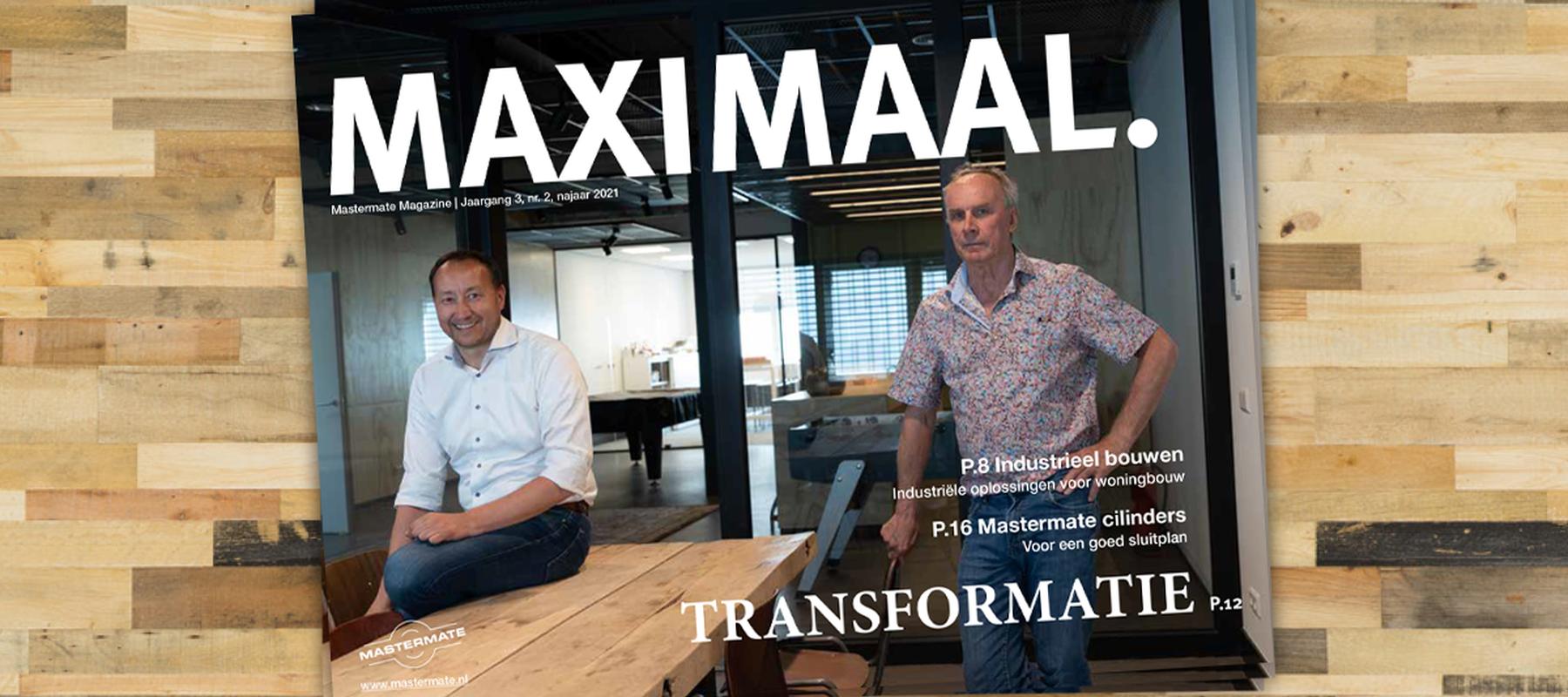 Maximaal: transformatie, sluitplannen en duurzaamheid bij Mastermate