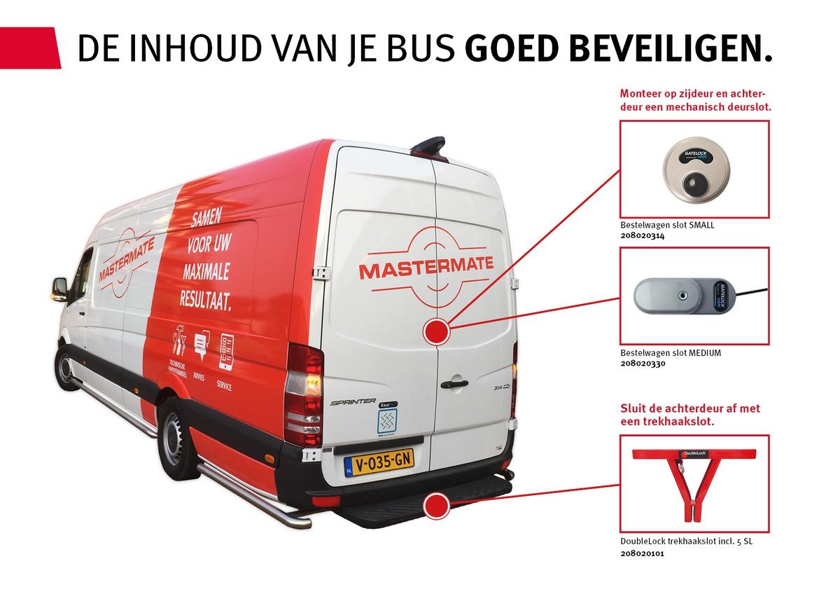 De inhoud van je bus beveiligen