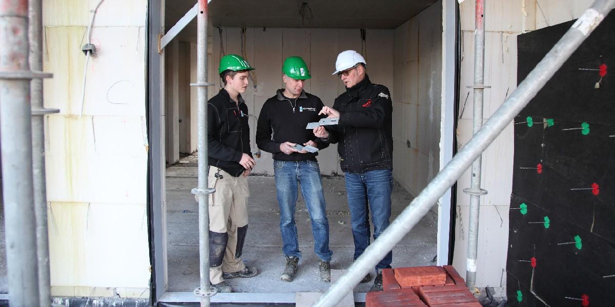 Goed overleg en communicatie in het ruwbouwproces